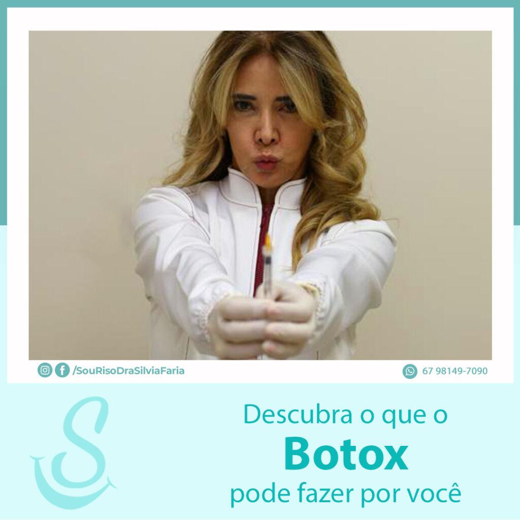 Descubra o que o Botox pode fazer por você