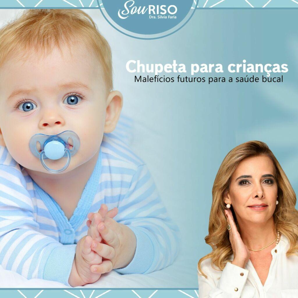 Chupeta para crianças, Malefícios futuros para a saúde bucal