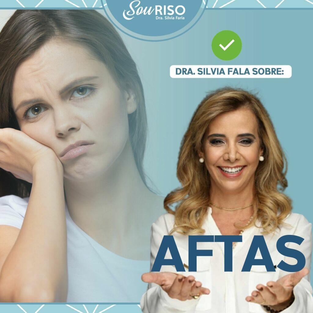 Dra Silvia fala sobre Aftas