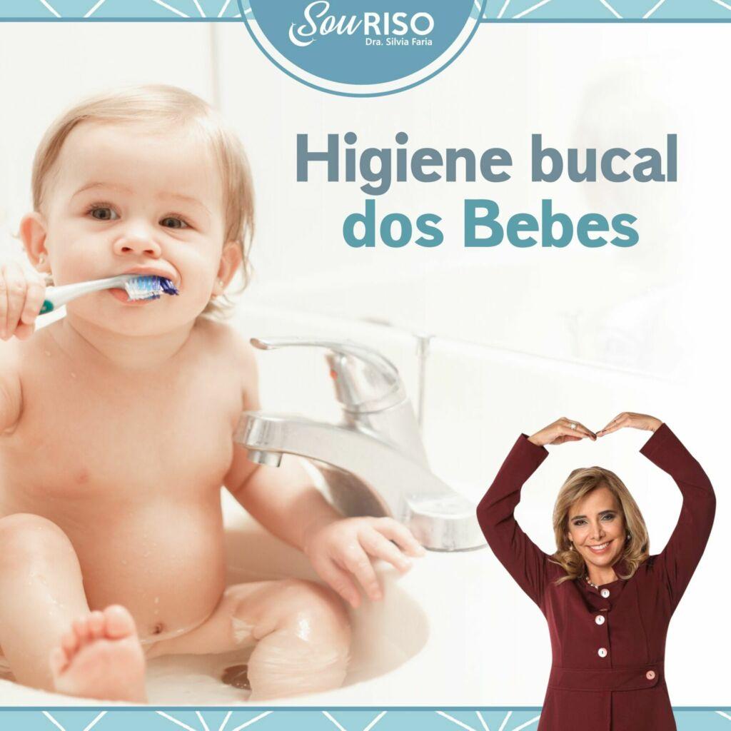Higiene bucal dos Bebes