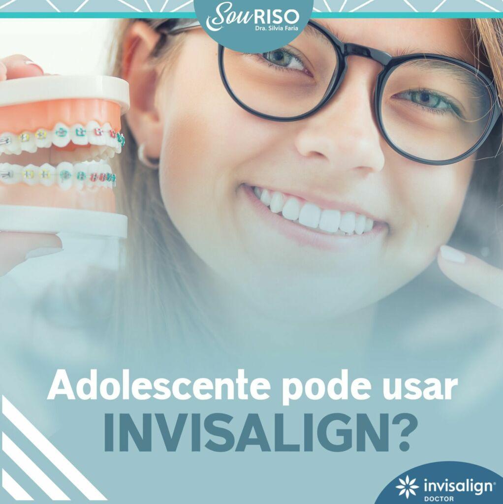 Adolescente pode usar Invisalign?