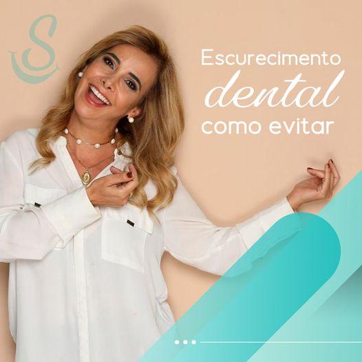 Escurecimento dental como evitar